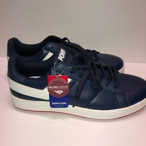 Pony blue lo-top sneakers Sz 11